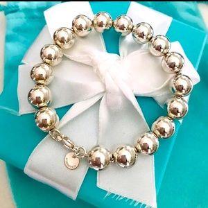 Super SHINY Tiffany Larger RARE Ball Bracelet